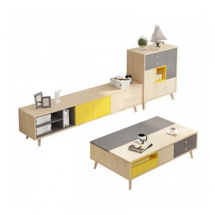 Solid Wood Cupboard Set